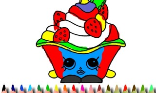 BTS Cake Coloring Book