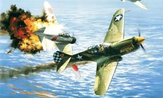 Aviation Art Air Combat Slide