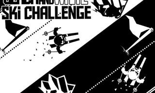Black & White Ski Challenge