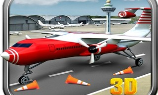 European Aero Plane Real Parking 3D 2019