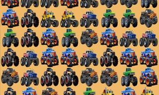 Monsters Trucks Match 3