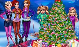 Princesses Christmas tree