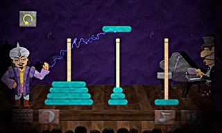 Logical Theatre Tower of Hanoi