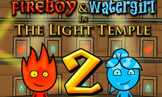 Fireboy and Watergirl 2 Light Temple