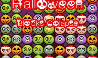 Halloween Blocks Collaspse Delux