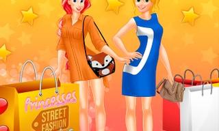 Princesses Street Fashion Shopping