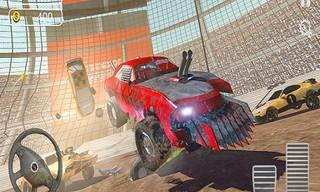 Derby Car Racing Stunt