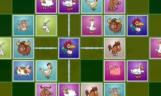 Farm Animals Matching Puzzles