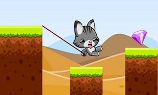 Swing Cat Endless Jump