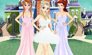 Girls Ball Dress up