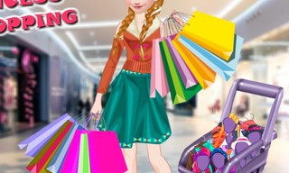 Ice Princess Mall Shopping