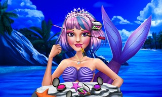 Mermaid Princess New Makeup