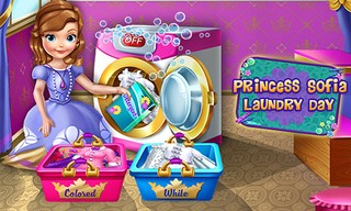 Young Princess Laundry Day