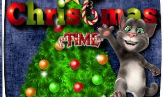 Talking Tom Christmas Time