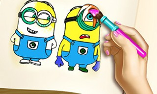 Mini Coloring Book