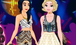 Princesses Hit 3 Parties a Night!