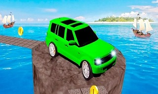 Impossible Jeep Racing Game : Crazy Tracks