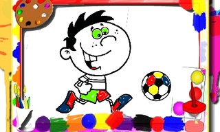 Football Coloring Time