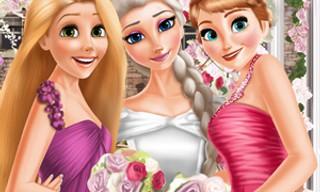 Eliza and princesses wedding