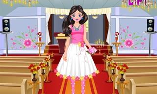 Flower Girl Dressup