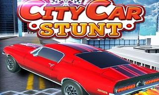 City Car Stunts Simulation Game 3D